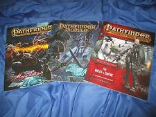 PATHFINDER Adventure Path/Module/Companion RPG Game Book Lot ~Queen & Empire +