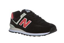 New Balance ML574 Schuhe Sneaker Turnschuhe Schwarz   Grau Sportschuhe SALE 97000e06a4