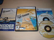 ✈️ MICROSOFT FLIGHT SIMULATOR X DELUXE FSX DELUXE ~ PC GAME PC DVD VGC COMPLETE