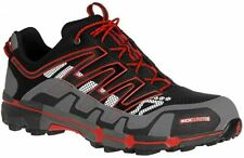 Inov8 Roclite 319 Mens Black Grey Trail Running Shoes Trainers Size UK 9 EU 43