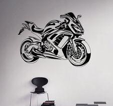 Sport Bike Vinyl Decal Motorbike Vinyl Sticker Home Interior Garage Wall Decor 5