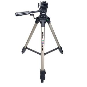 Velbon CX640 Camera Camcorder Tripod Pan Tilt Head Bubble Level