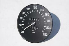 BMW E3 2500 2800 3.0Si 3.3Li Tacho 220km/h SPEEDOMETER TACHOMETER GAUGE 220 KPH
