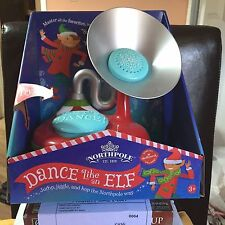 "HALLMARK NORTHPOLE ""Dance Like An Elf"" NIB Unique Christmas MUSIC"