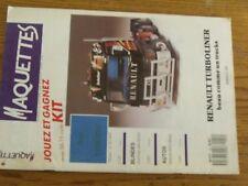 $$$ Revue Maquettes N°22 Renault TurbolinerHummer with M242Mazda MX5 Miata