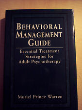 Behavioral Management Guide by Muriel Prince Warren Like New HC