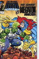 The Savage Dragon vs The Savage Megaton Man Gold Ed. 1st Print 1993 Larsen NM