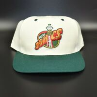 Seattle Sonics Supersonics Twins Enterprise Spell Out Vintage Snapback Cap Hat