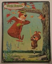 Vintage Yogi Bear Puzzle Hanna-Barbera Whitman Frame Tray 1961