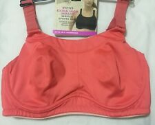 M&S Active Underwired EXTRA HIGH IMPACT SERIOUS SPORTS BRA PINK FIZZ Size 42DD