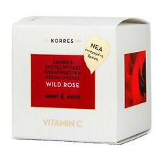 Korres New Wild Rose Brightening & First Wrinkles Advanced Repair Night Cream