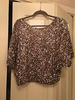 Vince Sequin Top-Size Small