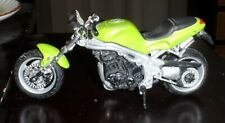 Maisto Tonka Green Speed Triple Special Edition Diecast Motorcycle 1/18 Scale
