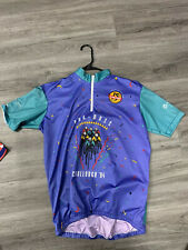 Cycling Jersey Medium Pan Mass Challenge 94 Vintage