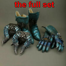 Cosplay Devil V Dante Props Halloween May Balrog Cry 5 Gloves Feet Weapon Latex
