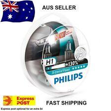 Philips X-Treme Vision +130% H1 Headlight Globes AUS SELLER!!! Xtreme