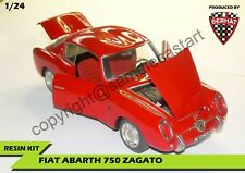 Fiat Abarth 750 Zagato Coupè BERMAT 1/24 1 24 Resin Kit made in italy
