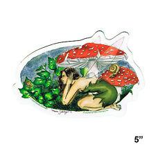 Sticker - Nedda Shishegar Mushroom Fairy Official Vinyl Decal Sd41