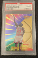 1997-1998 Michael Jordan Bowman's Best Performance #96 PSA 9 MINT 🔥 BULLS 🔥