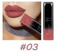 Pudaier Moisturizer Matte Nude Liquid Lipstick Metal Color Lip Gloss Makeup UK