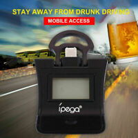 mini Digital LCD Police Breath Alcohol Tester Breathalyzer Analyzer for phone