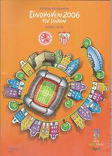 Programme UEFA CUP Final Middlesbrough FC v Sevilla FC 10-05-2006