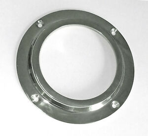 """Canal boat 71mm (2.3/4"""") chrome porthole (nb - glass not included)  CP003"""
