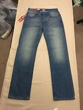 Lee Cooper Regular Fit Men's Straight Leg Jeans Size 30x32 NWT