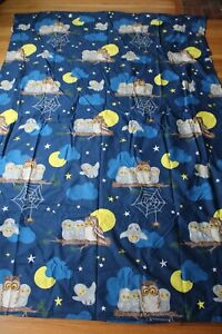 Ikea Vandring Uggla Owl Blue Duvet Cover Twin 60x84