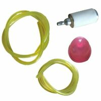 For Weedeater Featherlite Trimmers Primer Filters Fuel Line Replacement Kit New