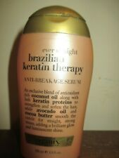 OGX Ever Straight Brazilian Keratin Therapy Anti-Breakage Serum 3.3 oz