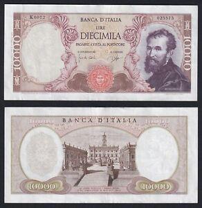 Italia 10000 lire Michelangelo 1962 SPL++/XF++  B-01