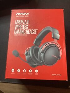 Mpow Air 2.4G Wireless Gaming Headset for PS4/PC Computer Headset, RED Dual Cham