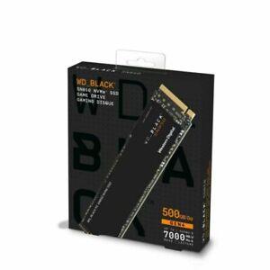Western Digital Black SN850 500GB M.2 NVMe Internal SSD (WDS500G1X0E-00AFY0)