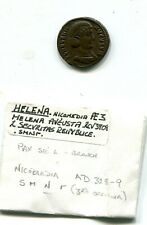 rome helena mother  of constantine  ad 328 328   ae3 , 17mm, scarce coin