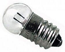 AG0810 LAMPADINA 6V E10 0,3A   ( 2 PEZZI )