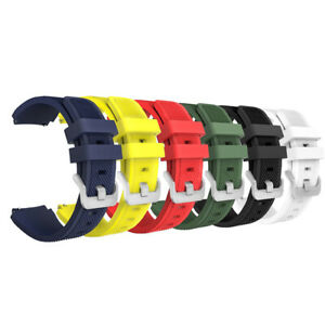 22mm Silicone Bracelet Strap Watch Band For Samsung S3 Frontier Gear X6W9