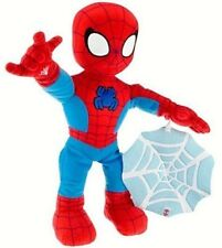 Spider-Man Talking Super Hero Pal With Blanket Cuddle Plush Soft Toy