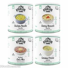 Augason Farms Hot Soup Kit 4 Pack Emergency Disaster Camp RV Food Meal