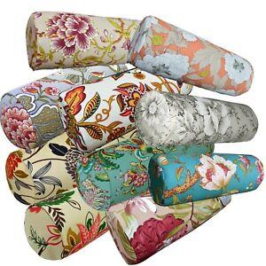 Bolster Cover*A-Grade Cotton Canvas Neck Roll Tube Yoga Massage Pillow Case*Lf4