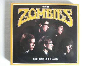 DOPPEL-CD:THE ZOMBIES THE SINGLES As & Bs TROOGS HOLLIES KINKS YARDBIRDS STONES