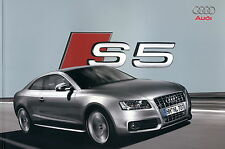 Audi S5 Prospekt 2007 3/07 Autoprospekt Katalog brochure catalog broschyr Auto