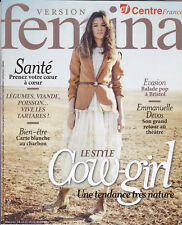VERSION FEMINA N° 829 MAGAZINE 2018 - LE STYLE COW-GIRL - REVUE MAG MODE PEOPLE
