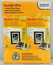 "Kodak Ultra Photo Paper 4""x6"" 200 Sheets New Premium High Gloss 74lb 10 mil"