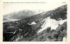 Unposted 1915-30 PC Mt Andreson Panorama Pt Rim o' World Dr San Bernardino Co CA