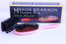 Mason Pearson SB3 Pure Bristle Sensitive Hair Brush - Pink