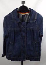 DKNY Denim Jacket Medium Swing 3/4 Sleeve
