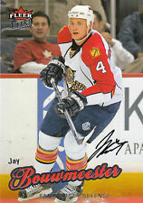 JAY BOUWMEESTER PANTHERS AUTOGRAPH AUTO 08-09 FLEER ULTRA #31 *8448