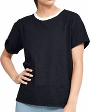 Under Armour Charged Cotton Short Sleeve Womens Training Top - Black