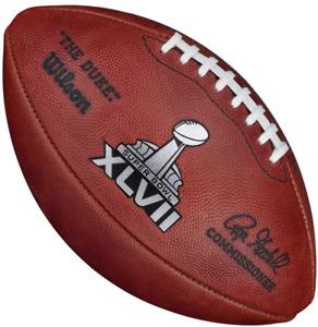 SUPER BOWL XLVII 47 Authentic Wilson NFL Game Football - BALTIMORE RAVENS